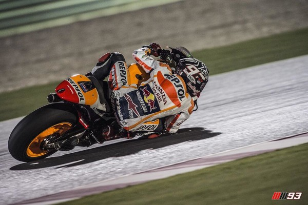 MotoGP, Test Qatar: Marquez è 1°, tallonato dalle Ducati GP15. Segui il Live Timing