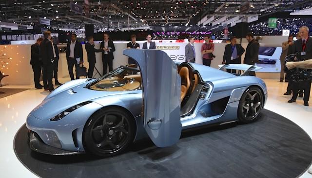 Koenigsegg Regera Oltre 1500 Cv Senza Trasmissione