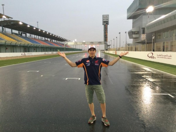 MotoGP, Test Qatar: nessun pilota in pista per la troppa pioggia