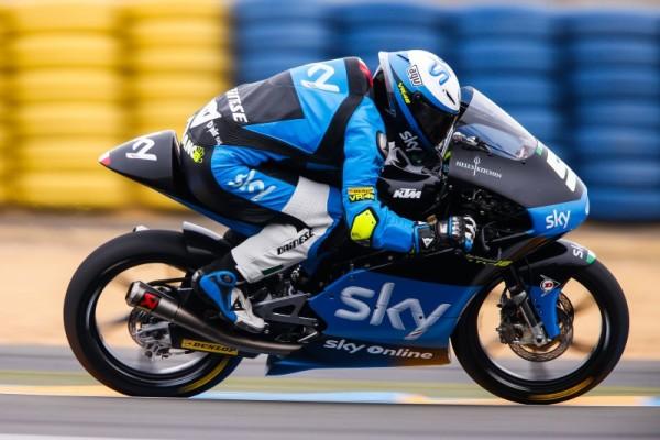 Moto3, Le Mans: capolavoro italiano con Fenati, Bastianini e Bagnaia sul podio