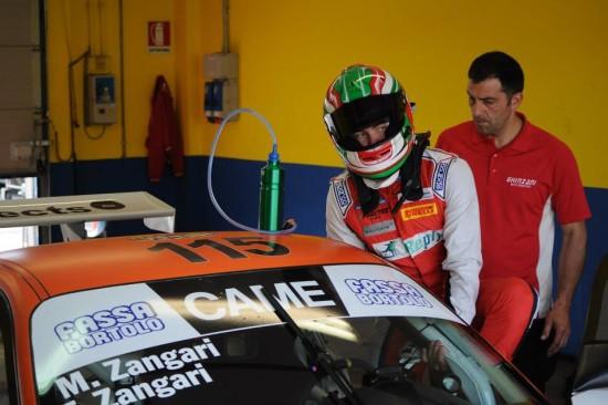 Zangari - Porsche 997 GT3 - Ghinzani Arco Motorsport - Vallelunga