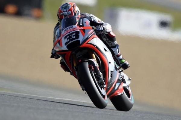 Marco Melandri Aprilia MotoGP