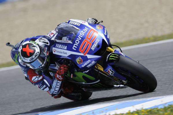 MotoGP, Jerez: Lorenzo ritrova la Pole e beffa Marquez (2°)