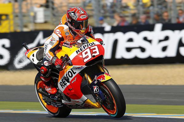 MotoGP, Le Mans: incredibile Pole Position di Marquez, ma le Ducati ci sono