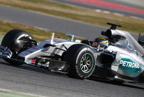 F1, Test Barcellona: a metà giornata spiccano Wehrlein e la Mercedes