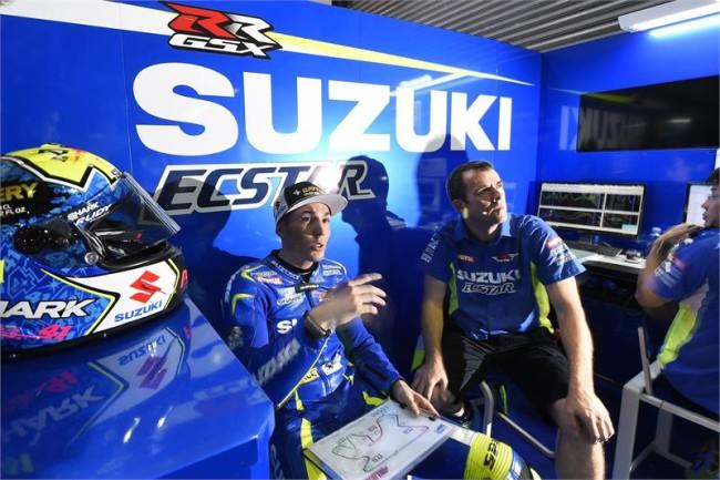 Aleix Espargarò Suzuki operazione highside