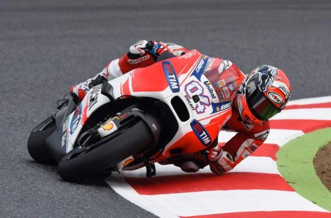 Andrea Dovizioso Ducati GP15 GP Barcellona
