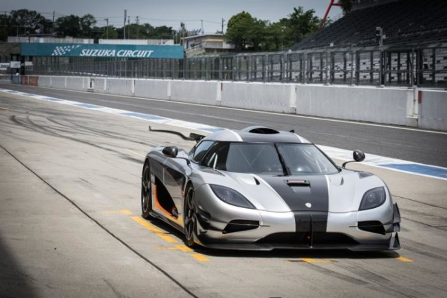 Test Koenigsegg One:1