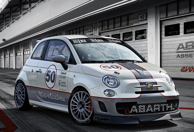 CITE: a Imola debutta l'Abarth 695 Assetto Corse Endurance