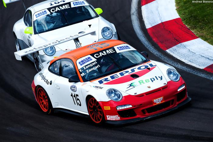 GT Cup, Imola: paura in Gara-1 per Federico Zangari