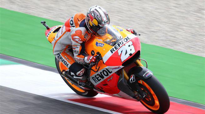 MotoGP, Assen: dominio Honda in FP2, Rossi 3°