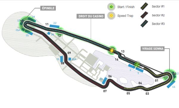 Circuito Gilles Villeneuve : F canada numeri info e record del circuito gilles