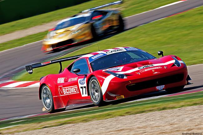 GT Italia, Imola: in Gara2 ancora un successo per la Ferrari 458 Italia
