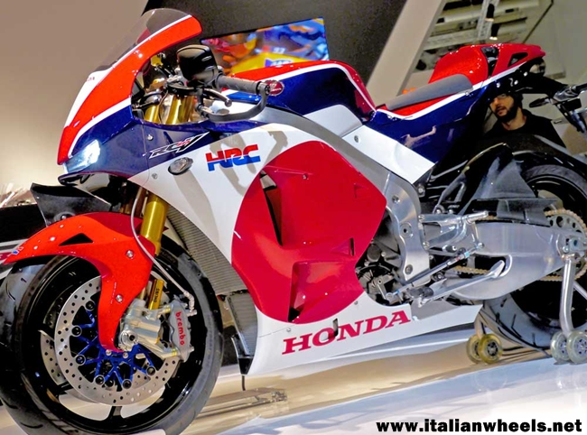 Honda RC213V-S Streaming