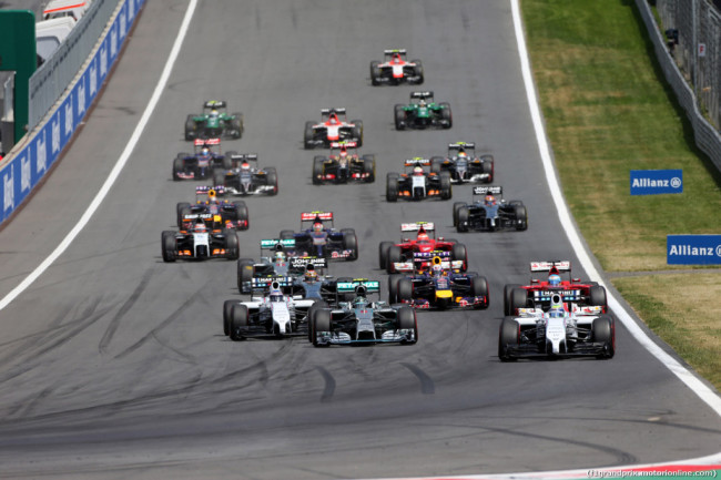 F1 Spielberg 2015 – Orari Dirette TV