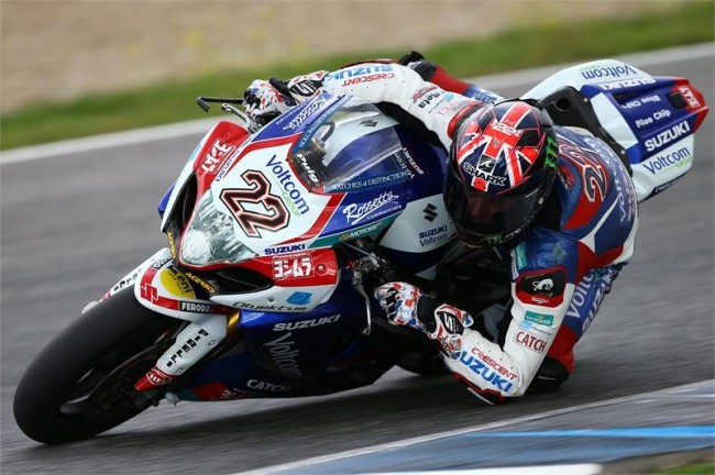SBK, Suzuki - Alex Lowes Portimao test