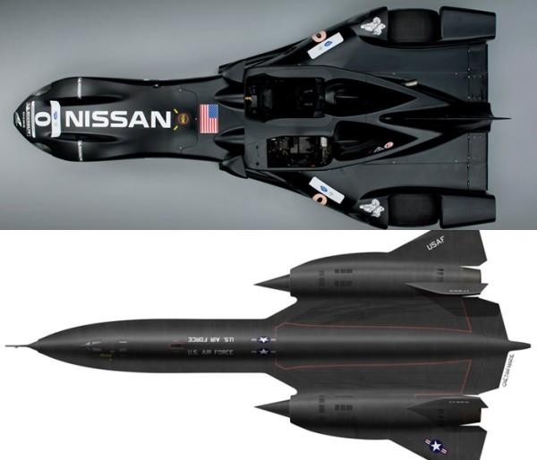 Nissan Nismo DeltaWing - Blackbird SR-71