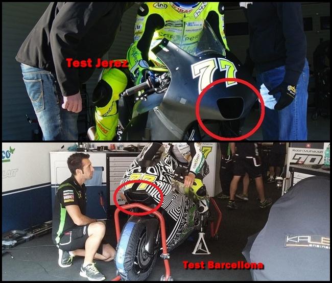 Akira Kawasaki Test MotoGP