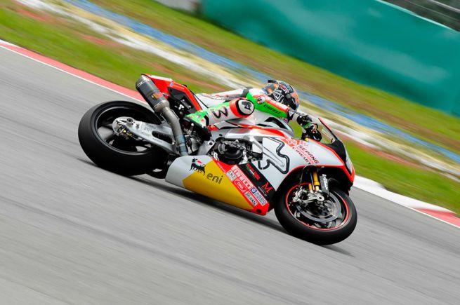 Max Baggi superbike sepang 2015
