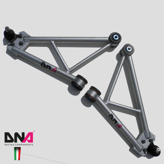 Kit Trapezzi con Uniball per Fiat 500 e Abarth by DNA Racing Components