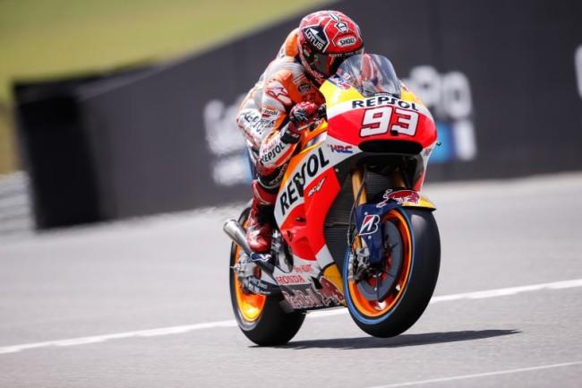 MotoGP, Sachsenring: Marquez vola in FP3, ma le Yamaha sono lì
