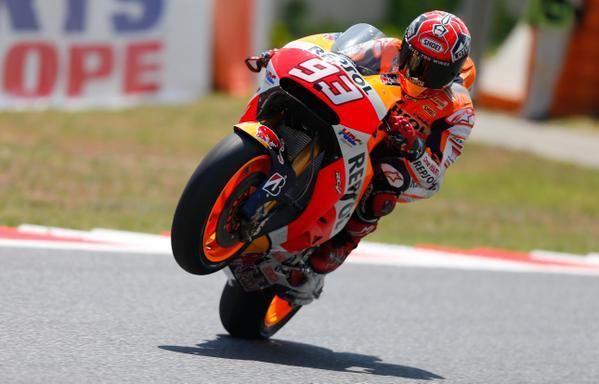 MotoGP: dominio Honda al Sachsenring, Marquez torna a far paura