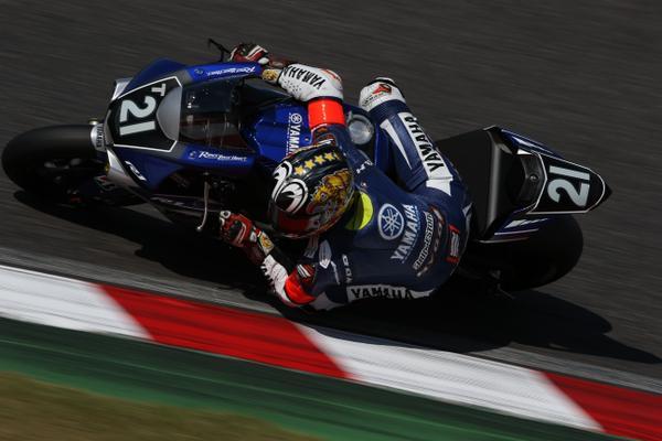 Katsuyuki Nakasuga Yamaha R1 factory Suzuka 8 Hours 2015