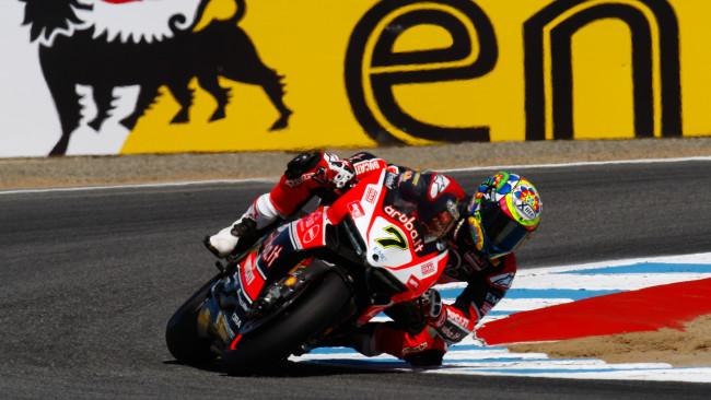 Davide Giugliano Ducati Superbike Laguna Seca 2015