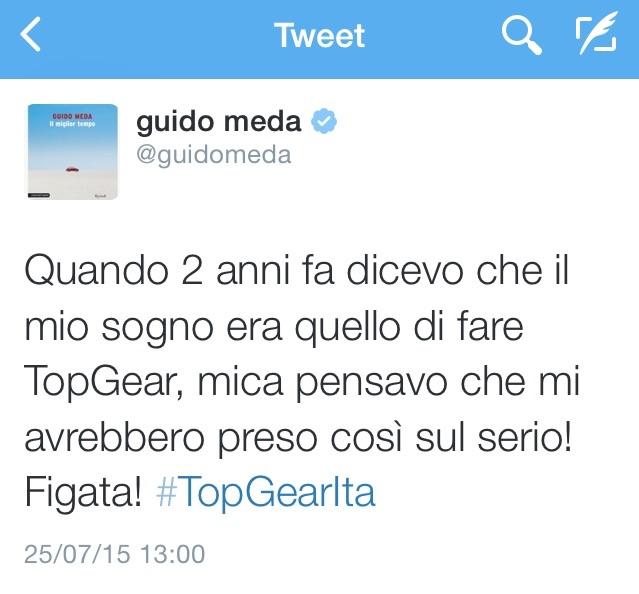 TopGear Italia: confermati Meda e Bastianich