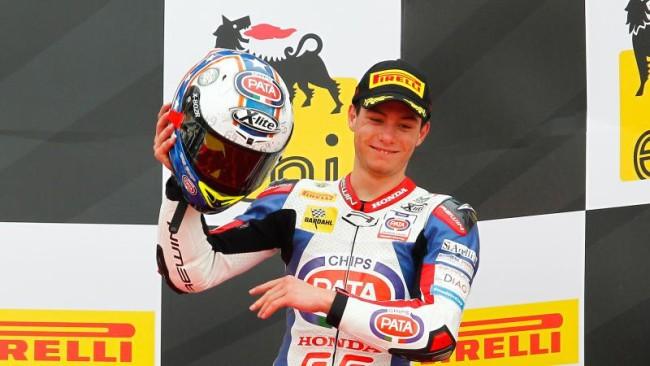 Federico Caricasulo Campionato Europeo Superstock 600 2015