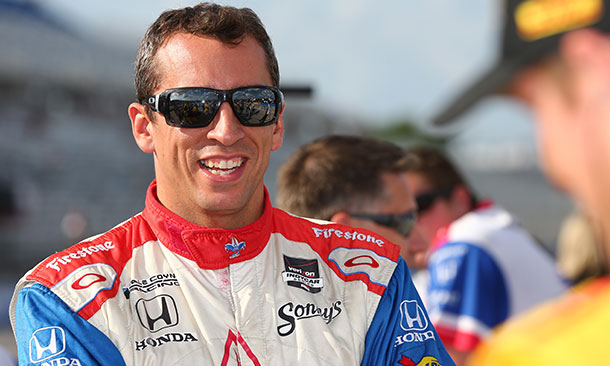 Justin Wilson IndyCar 2015
