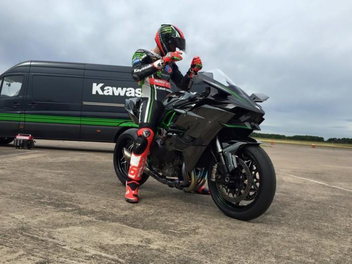 Tom Sykes Kawasaki H2R 2015