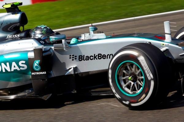 Nico Rosberg F1 Spa-Francorchamps FP2 2015
