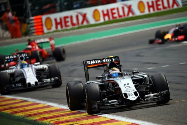 Force India GP Spa-Francorchamps 2015
