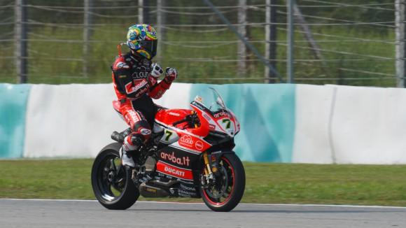 Chaz Davies Ducati Panigale R Sepang 2015