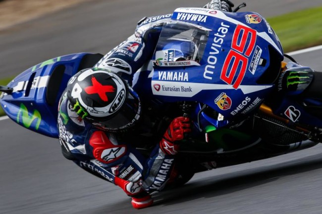 Jorge Lorenzo MotoGP Silverstone 2015