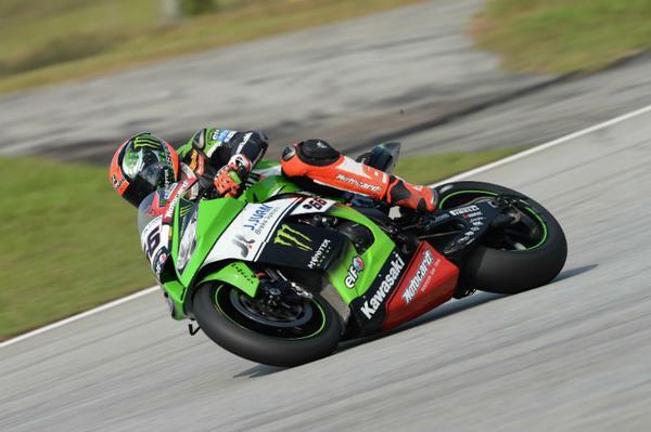 Tom Sykes Kawasaki SBK 2015 Sepang Superpole