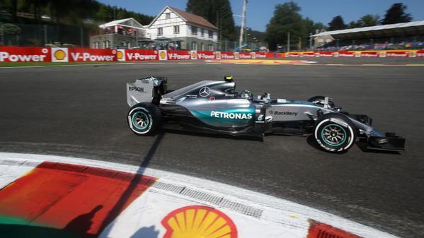 Nico Rosberg F1 2015 Spa-Francorchamps