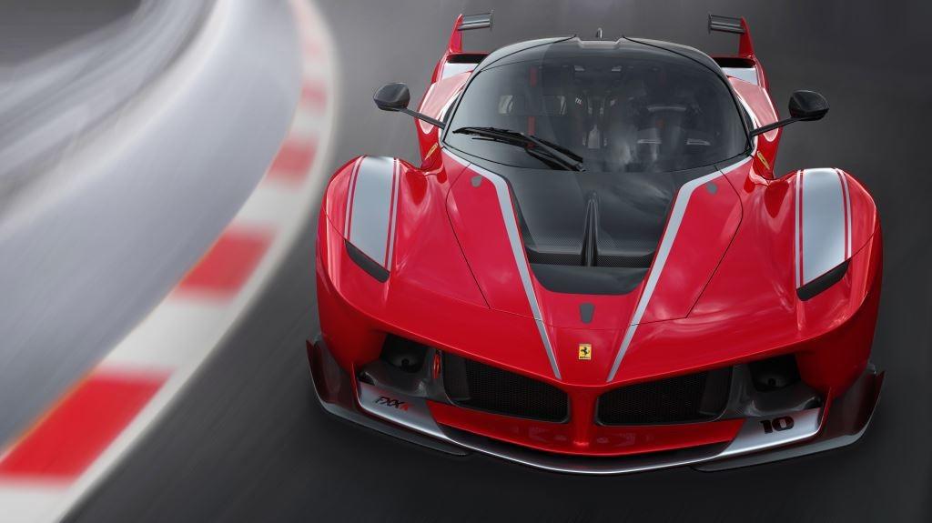 Ferrari FXX K in pista