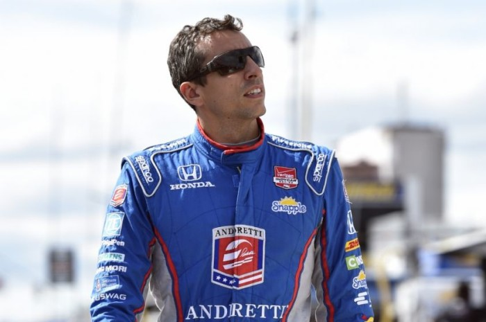 Justin Wilson IndyCar Series 2015 Team Andretti