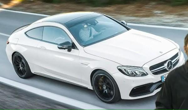 Mercedes AMG C63 S Coupé