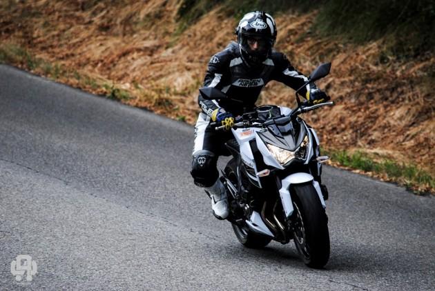 Kawasaki Z800 2015 White Pearl