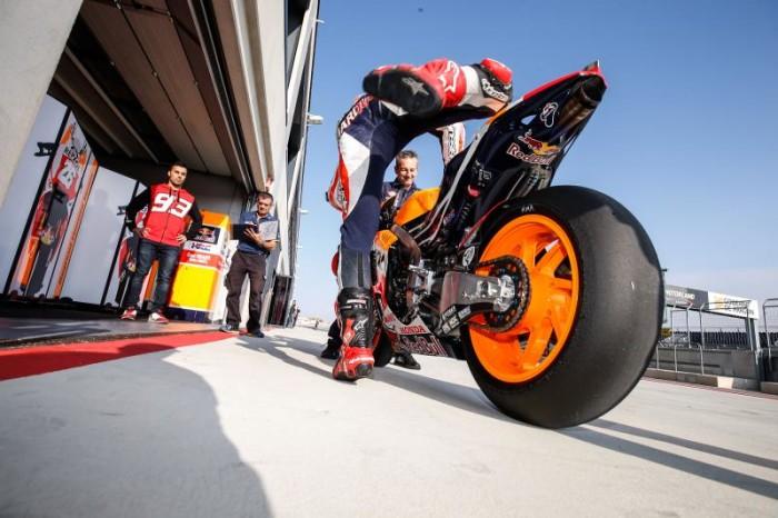 Marc Marquez Honda MotoGP 2015 Aragon test