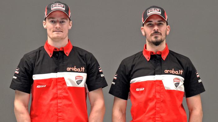 Davide Giugliano e Chaz Davies Ducati Superbike Team 2016