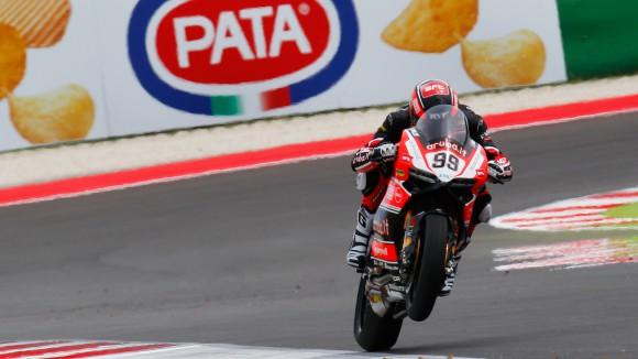 Luca Scassa Ducati Superbike 2015