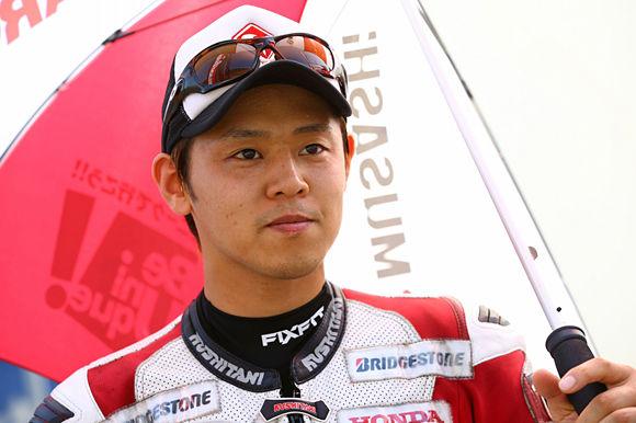 Takumi Takahashi HRC MotoGP 2015 Motegi