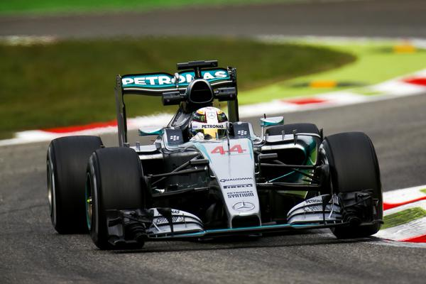 Lewis Hamilton GP Monza 2015