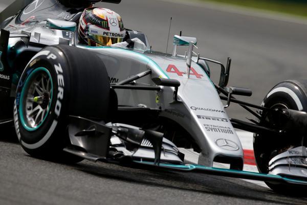 Lewis Hamilton pole position GP Monza 2015