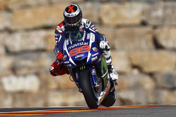 Jorge Lorenzo Aragon GP 2015