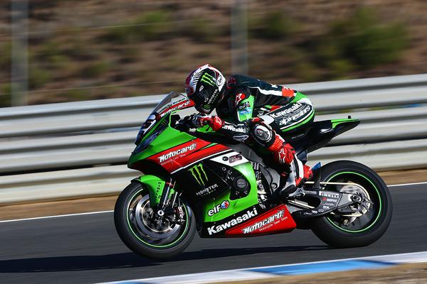 Jonathan Rea world champion sbk 2015 Jerez